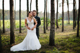 plener ślubny w lesie hotel groman