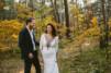 Plener ślubny w lesie